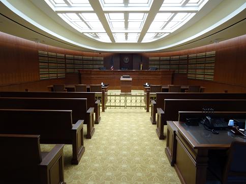 modern courtroom web